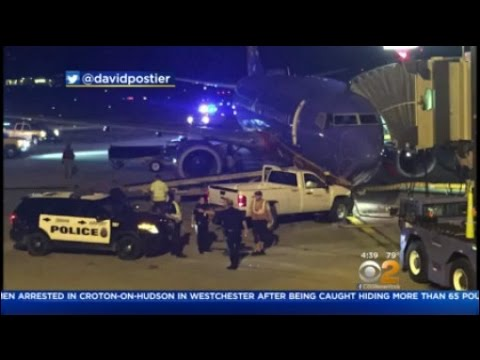Truck Collides With Plane At Omaha Airport