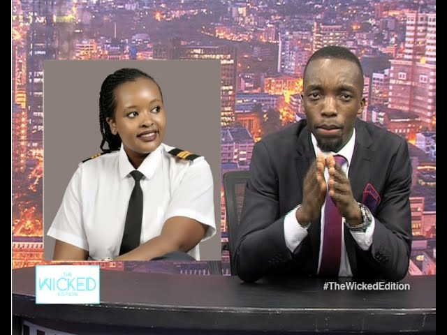 Plane caught fire in Voi, Kenyan Pilot saved it and lives to tell the story - The Wicked Edition 159