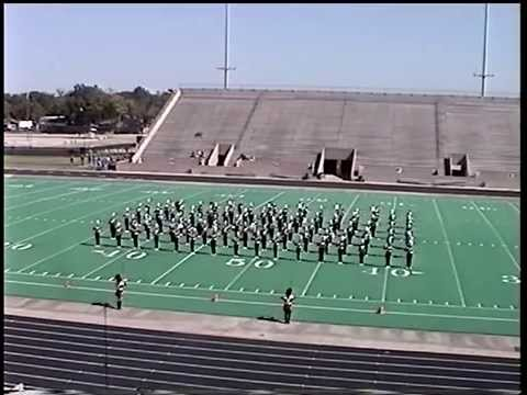 Crosby High School Band 2001 UIL 4A Area F Marching Contest
