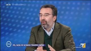 Assemblea PD, il commento di Marco Damilano