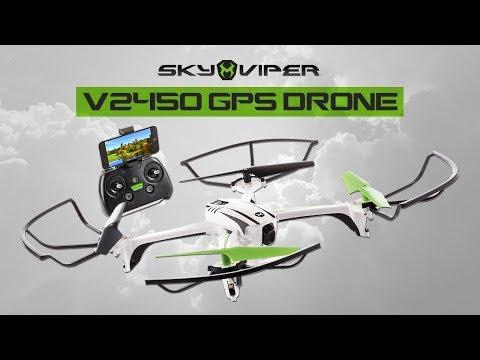 SKYROCKET'S SKY VIPER V2450 GPS DRONE! | A Toy Insider Play by Play