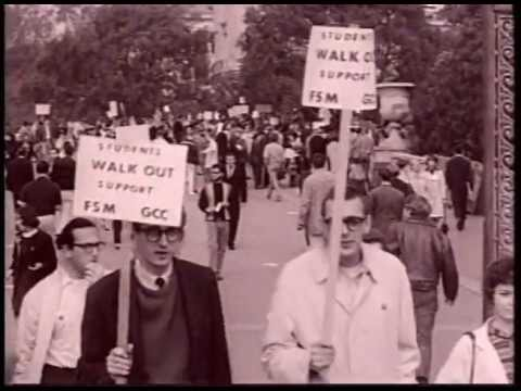 The Free Speech Movement: civil disobedience in Berkeley 1964