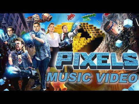 Pixels (2015) Music Video