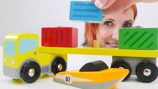 Видео для детей с Машей Капуки Кануки. Экспорт и импорт.