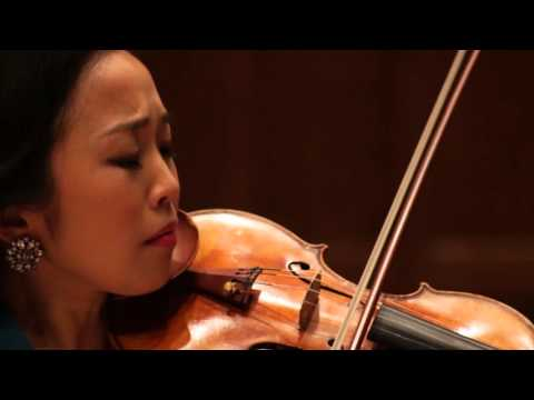 Beethoven Sonata in A Major, Op.30 #1 - Allegro; Jessica Lee, violin; Reiko Uchida, piano