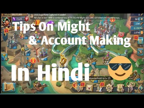 Lords Mobile - Tips To Increase Might & Make A Basic Strong Account In Lords Mobile