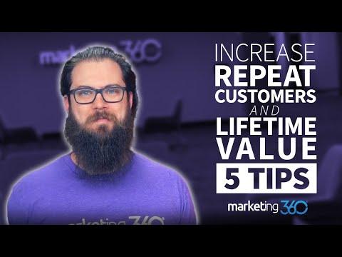 Customer Retention Strategies - 5 Tips To Increase Lifetime Value | Marketing 360®
