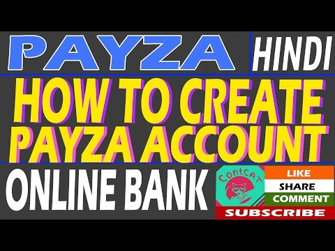 HINDI - HOW TO CREATE PAYZA ACCOUNT & VERIFY, HOW TO DEPOSIT, WITHDRAW, USD, BITCOIN, INR?