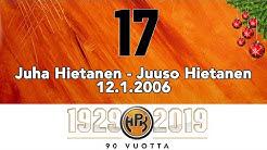 Joulukalenteri #17: Juha Hietanen, Juuson ensimmäinen maali Rinkelinmäellä