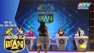 Trấn Thành - Hari song kiếm hợp bích dẫn HTV GIỌNG CA BÍ ẨN|GCBA #1 FULL|5/8/2018