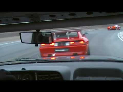 Lancia Thema @ Rudskogen 2010 Last Race Of The Year.