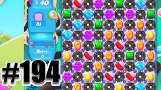 Candy Crush Soda Saga Level 194 | Complete! No Booster!