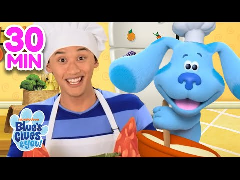 Awesome Adventures With Josh & Blue!  30 Minute Compilation | Blue's Clues & You