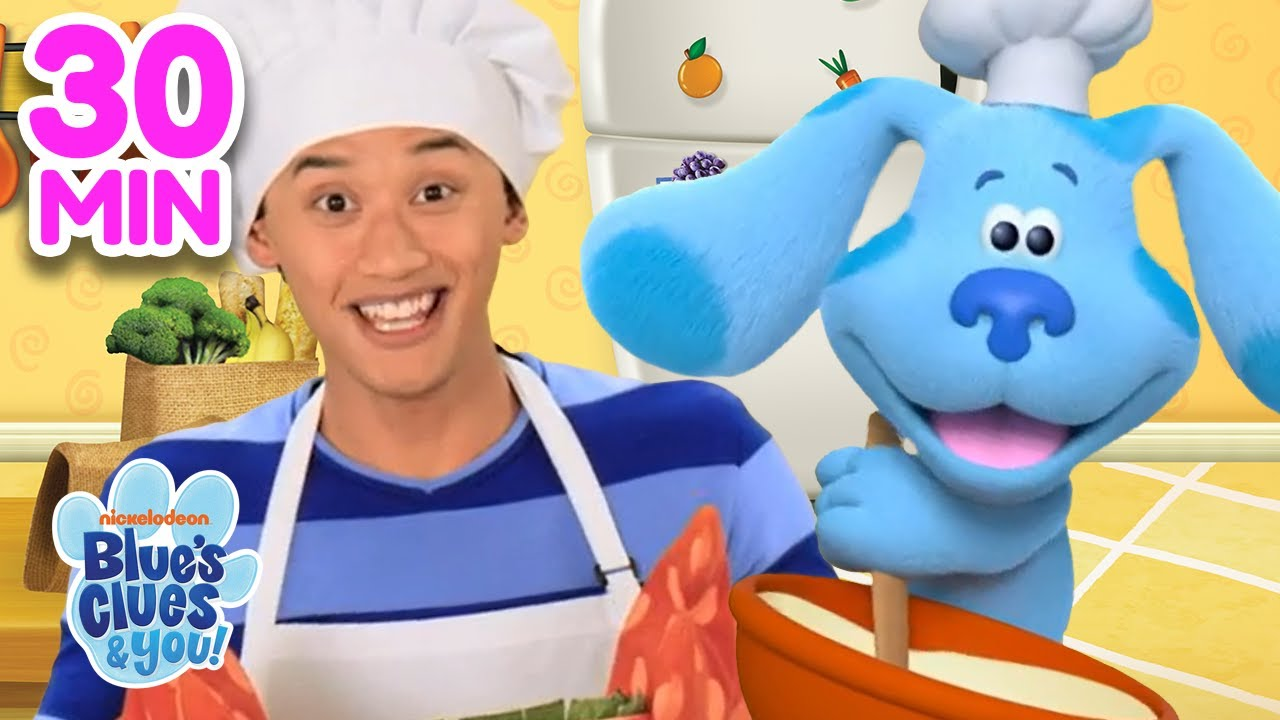Download Awesome Adventures With Josh & Blue!  30 Minute Compilation | Blue's Clues & You