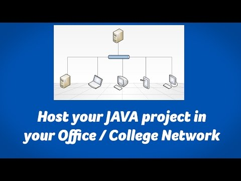Host Java Web Project in Local Network / Office Network / School Network