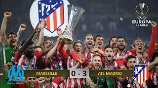 Hasil Final Europa League MARSEILLE VS ATLETICO MADRID, tgl 17 Mei 2018