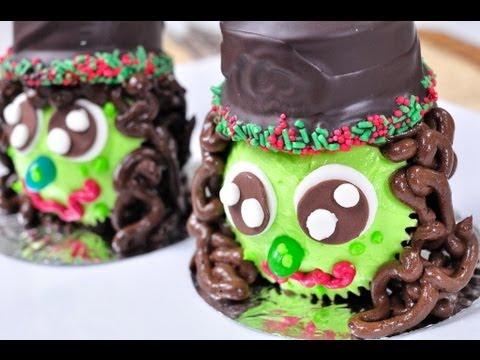 คัพเค้กแม่มด Witch Halloween Cupcake