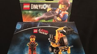 the lego movie emmet fun pack lego dimensions unboxing building