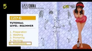 [e2046] Garage Kit Building Tutorial - Chapter 5  Assembling ( By Olivier)
