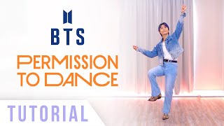BTS - 'Permission to Dance' Dance Tutorial (Explanation and Mirrored) | Ellen and Brian