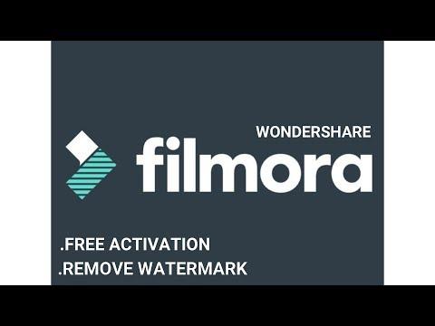 remove watermark filmora mac