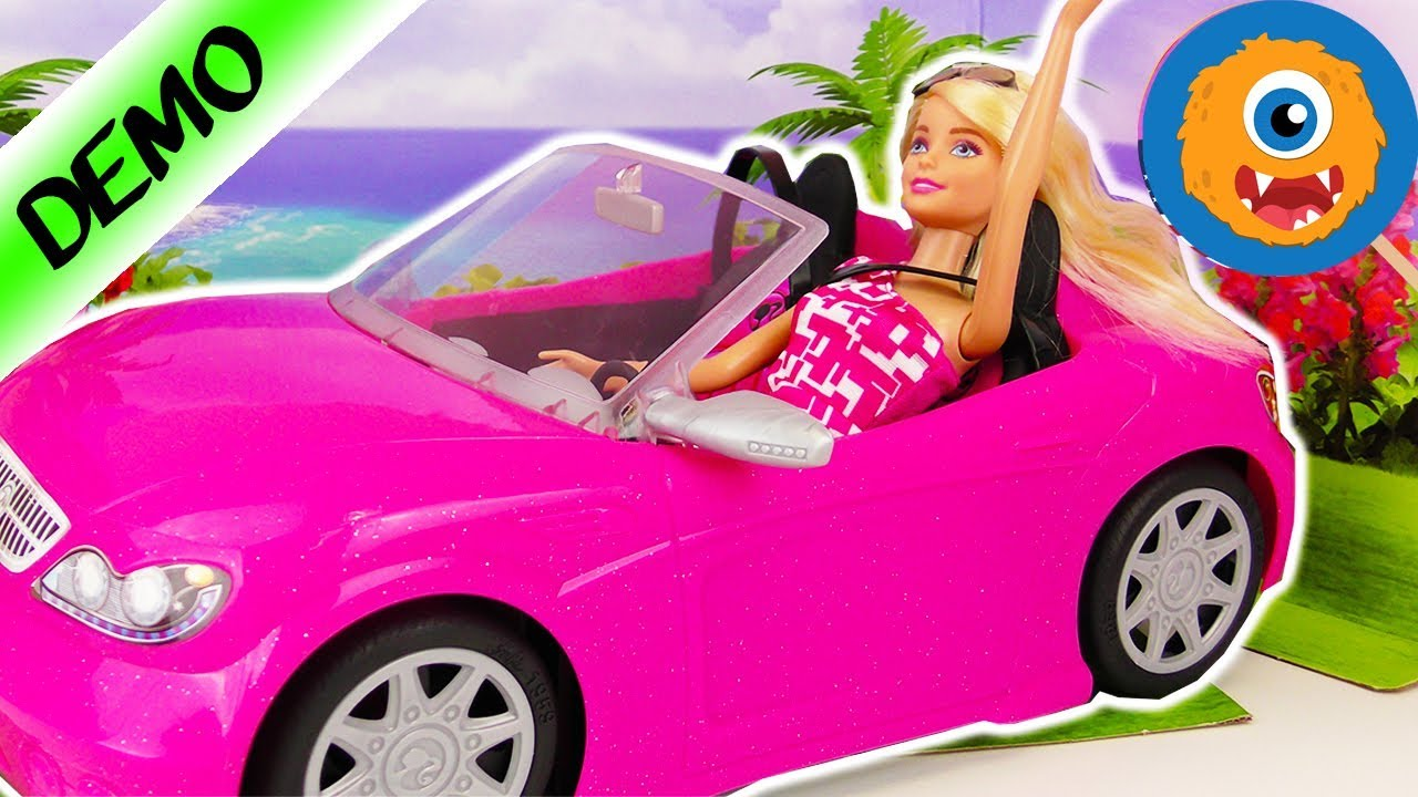 Barbie Cabrio Cool Car For Barbie And Her Best Friends Barbie