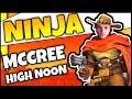 Ninja *MCCREE* IN FORTNITE | INSANE REVOLVER ONLY KILLS