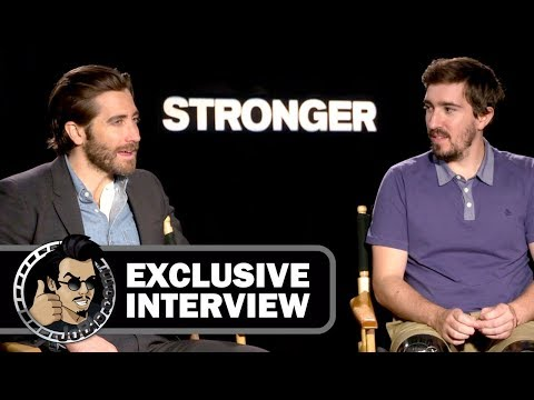 Jake Gyllenhaal & Jeff Bauman STRONGER Exclusive Interview (JoBlo) TIFF 2017