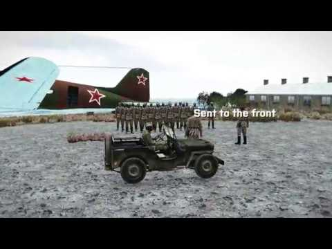 WW2 Russian SP Campaign 'The Story Of The Veteran' ArmA 3 Part 1