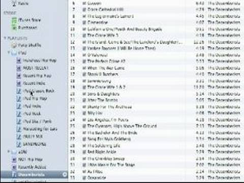 How to Use iTunes : How to Create Playlists in iTunes