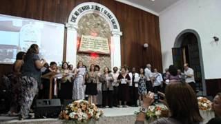 Grande grupo da Primeira IEC de Niterói - Canção da Família