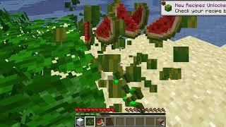 minecraft challenge can i survive in a buffet world episode 1 endless Jungle
