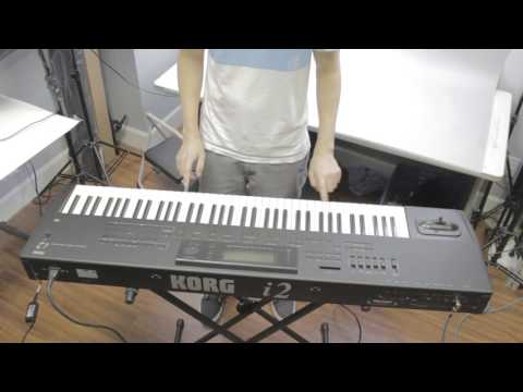 Korg Keyboard I2 Interactive Music Workstation Key Demo
