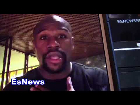 Floyd Mayweather May Come Back To Fight In UFC Can Do 4 Fight Deal For A Billion EsNews Boxing