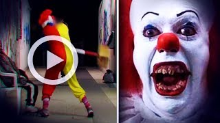 ON A FILMÉ L'ATTAQUE D'UN CLOWN TUEUR (Thread Flippant Halloween)