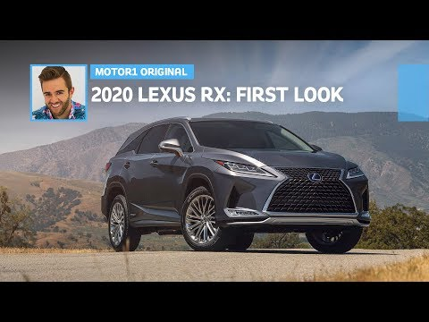 2020 Lexus RX and RXL facelift revealed with improved tech