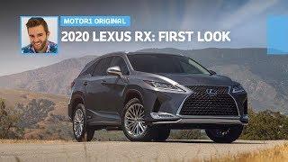 2020 Lexus RX: First Look