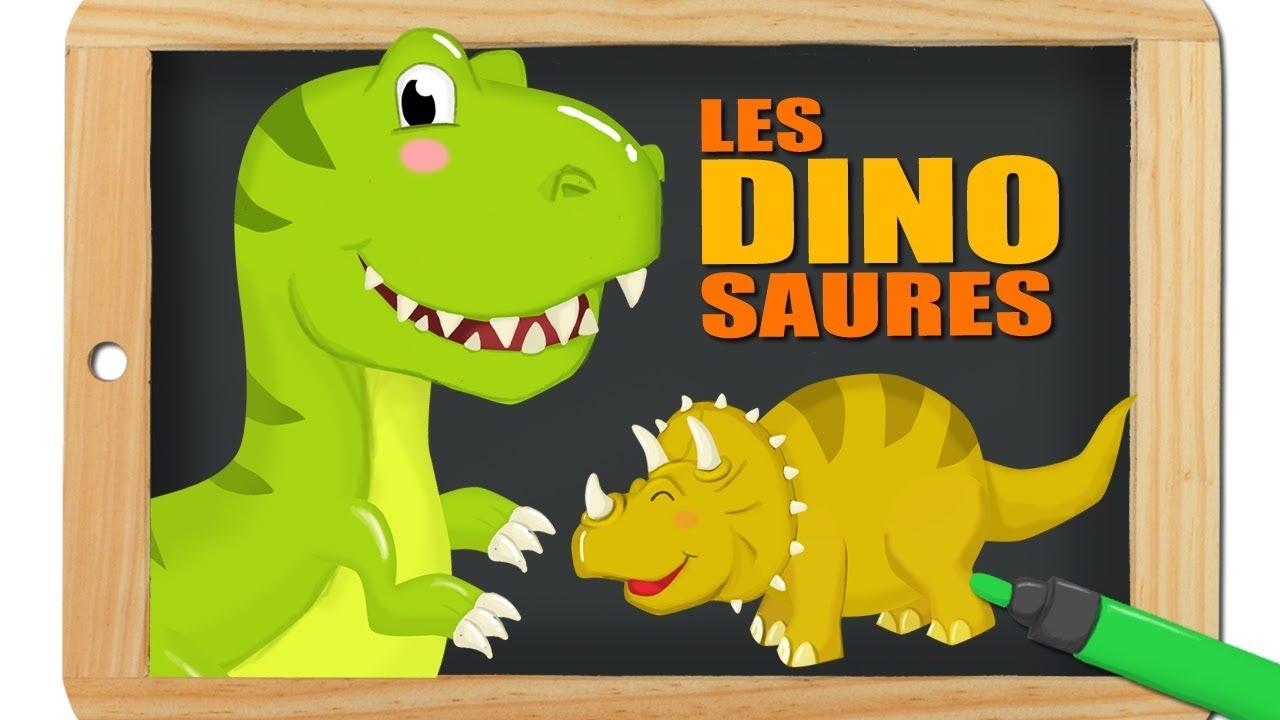 Dinosaures mini documentaire pour apprendre dessin anim pour les enfants titounis youtube - Dessins de dinosaures ...