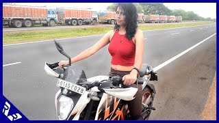 How to Ride a motorcycle | Beginners Guide | Girlfriend Edition | RWR