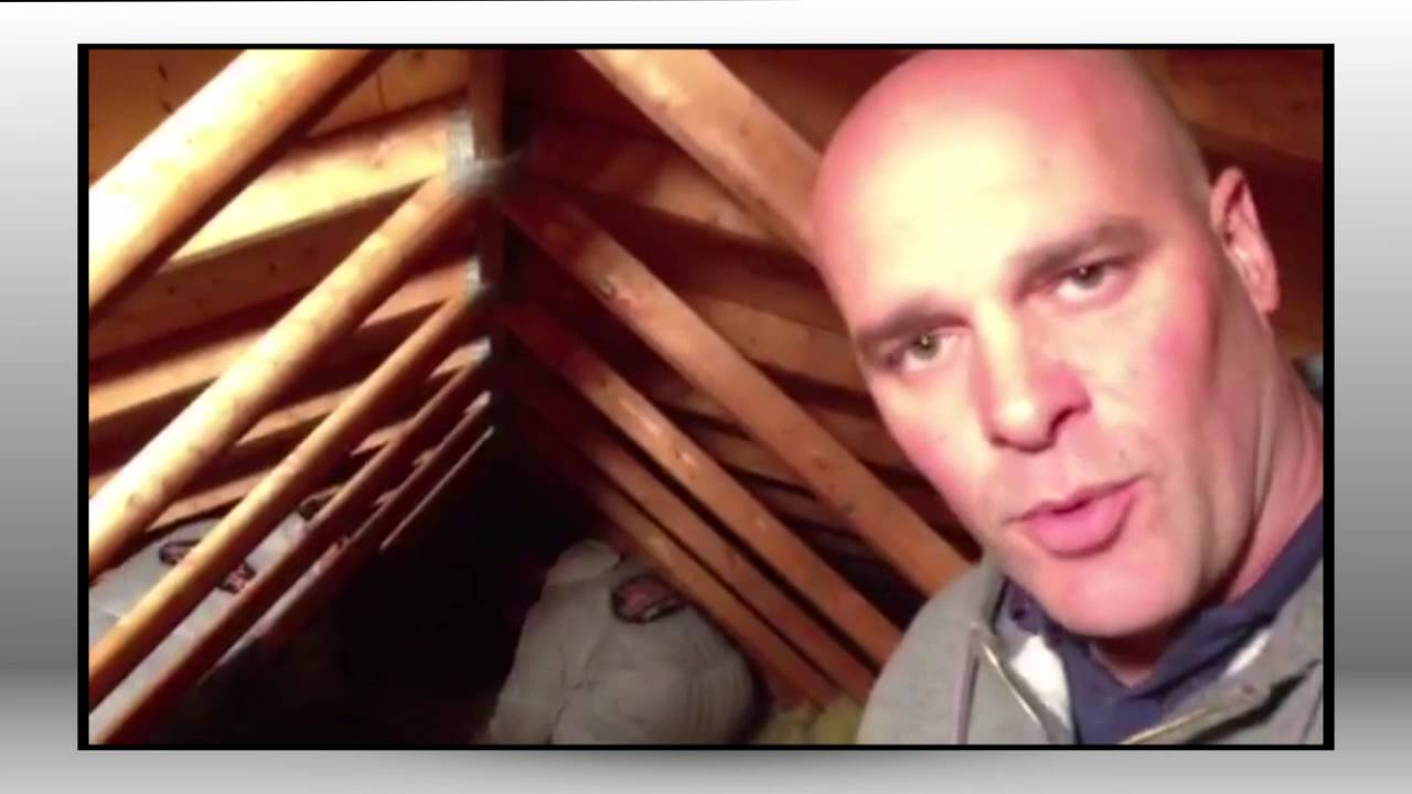 Removing attic insulation with bryan baeumler insta insulation removing attic insulation with bryan baeumler insta insulation youtube solutioingenieria Choice Image