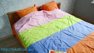 """Комплект постельного белья из ткани """"Поплин"""" хлопок 100% обзор, видео отзвы"""