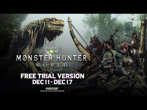 Monster Hunter: World - Free Trial thumbnail