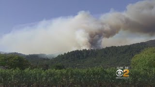 Battle Against Wildfires In California Improving