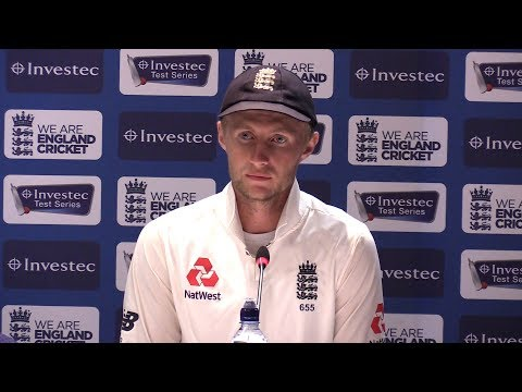 Press Conference With England Captain Joe Root Following Defeat To West Indies
