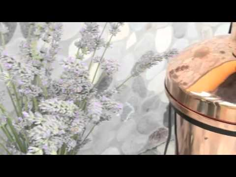 How to distill lavender and extract it's essential oil.