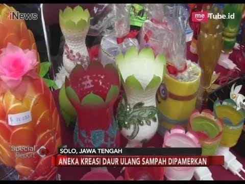 Mengolah Sampah Plastik Jadi Produk Kerajinan Cantik Special Report 20 03 Youtube