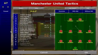 Championship Manager 00/01 live gameplay