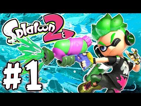 Splatoon 2 - Part 1 - The Zap Fish is Gone! (Gameplay Walkthrough Nintendo Switch)