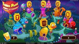 NetEnt Theme Park 20€ Freispiele