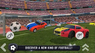 Car Football 2018 First 1 Cars Unlocked Androd Gameplay #1